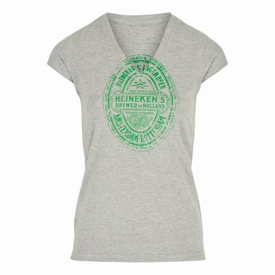 Heineken T-shirt etichetta New York 1933  da donna