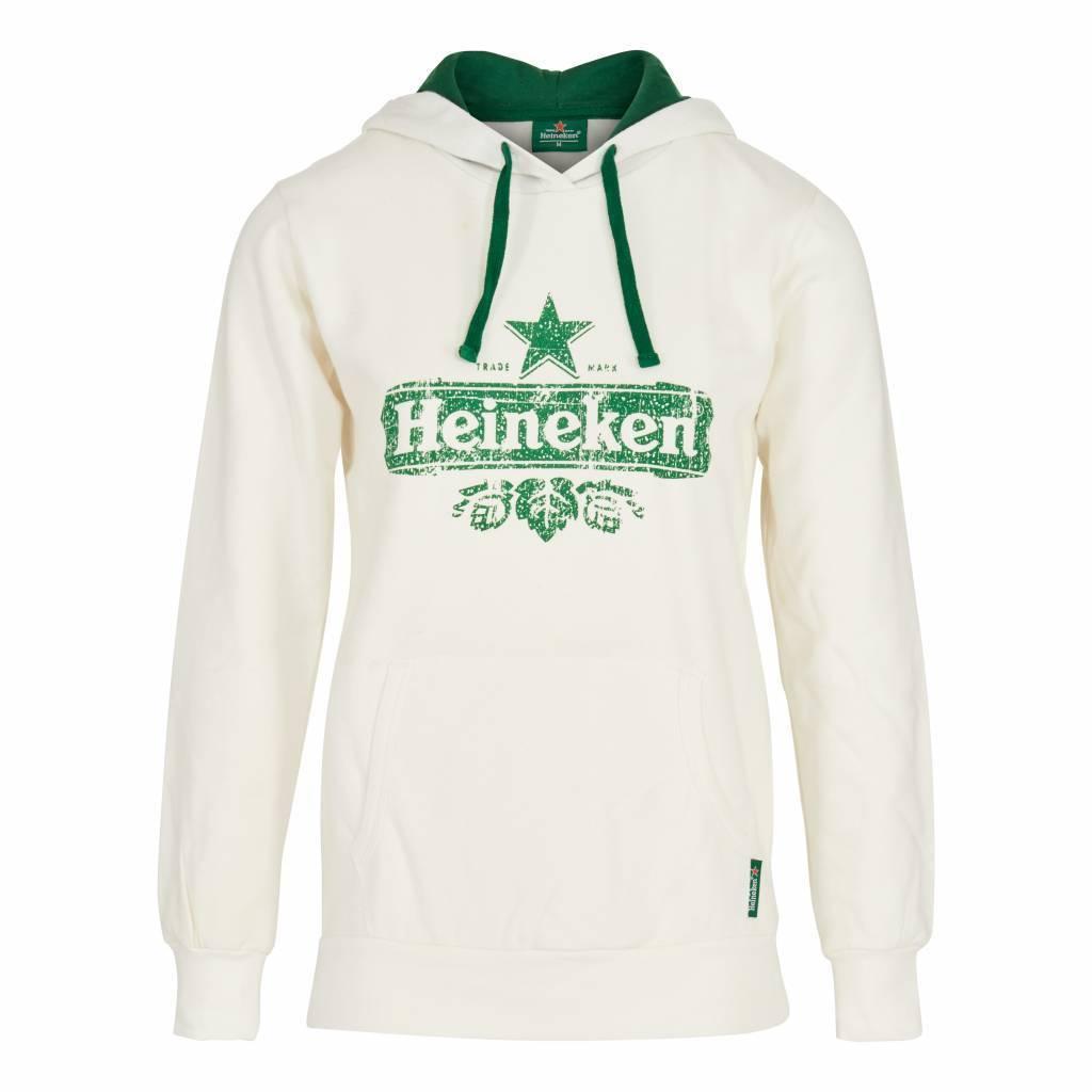 Heineken HOODED SWEATER WHITE WOMEN