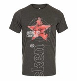 Heineken T-SHIRT GREY ROUND NECK MEN