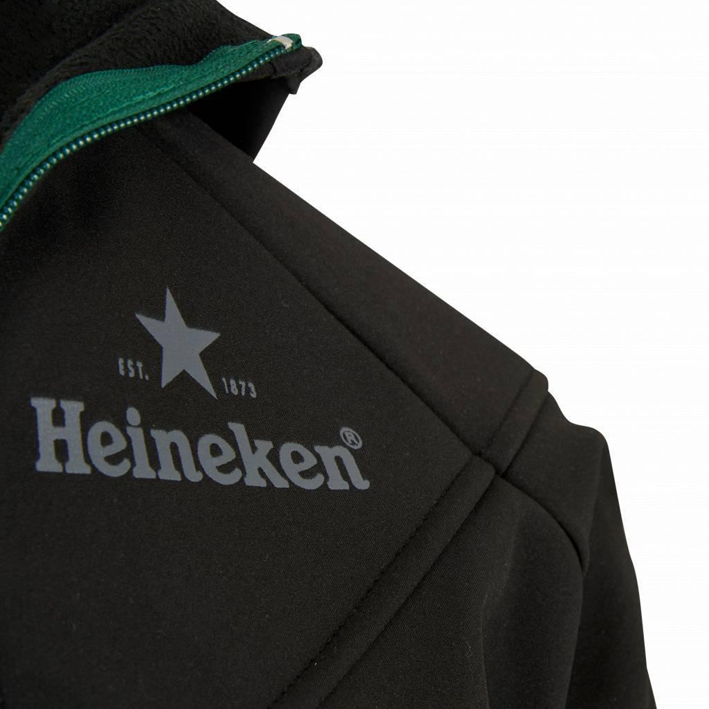 Heineken Giacca antivento nera da donna