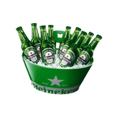 Heineken SINGLE WALLED ICE BUCKET GREEN