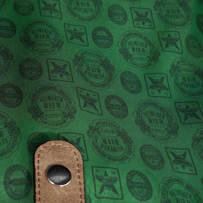 Heineken Heritage leather laptop bag