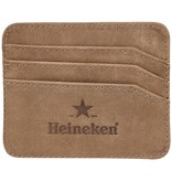 Heineken Porta carte di credito in pelle ''Heritage''