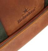 Heineken Retro leather laptop bag