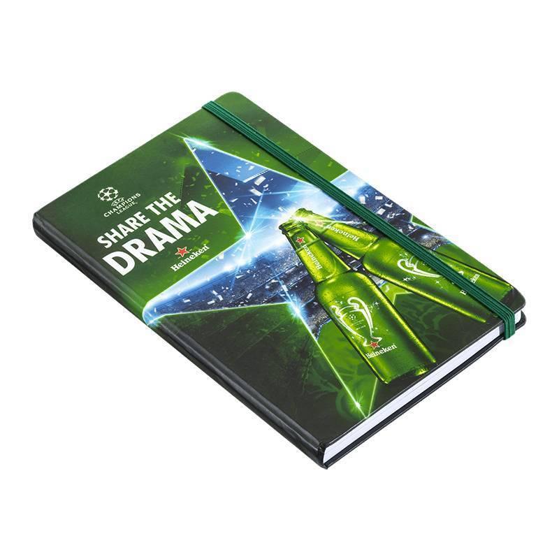 Heineken UEFA Champions League Football Facts Notebook