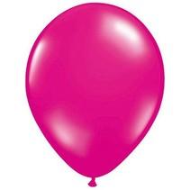 Folat - Ballonnen - Magenta/roze - 50st.