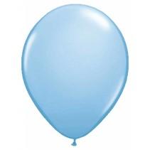 Folat - Ballonnen - Lichtblauw - Metallic - Lichtblauw - 10st.