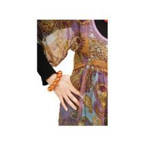 Folat - Parelarmband - Oranje