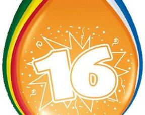 16 jaar