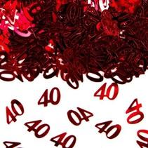 Folat - Tafeldecoratie/confetti - 40 Jaar getrouwd