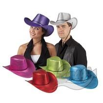 Folat - Cowboyhoed - Glimmend - Assortie