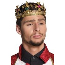 PartyXplosion - Kroon - Royal king - Metaal
