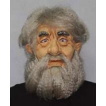 Witbaard - Masker - Oude man/Abraham