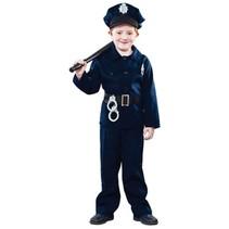 Witbaard - Kostuum - Politie - mt.140