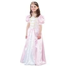 Witbaard - Jurk - Prinses - Roze/wit - mt.128