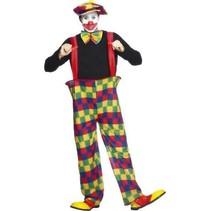 Smiffys - Kostuum - Clown - Wijde broek - L