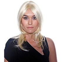 Folat - Pruik - Maxima - Blond