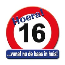 Paperdreams - Huldeschild - 16 Jaar