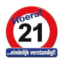 Paperdreams - Huldeschild - 21 Jaar