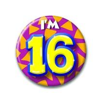 Paperdreams - Button - Klein - I'm 16