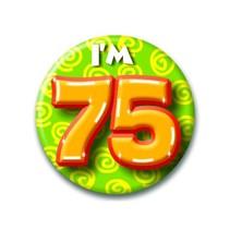 Paperdreams - Button - Klein - I'm 75