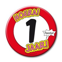 Paperdreams - Button XL - 1 Jaar