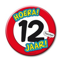Paperdreams - Button XL - 12 Jaar