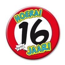 Paperdreams - Button XL - 16 Jaar