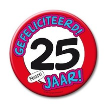 Paperdreams - Button XL - 25 Jaar