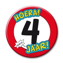 Paperdreams - Button XL - 4 Jaar