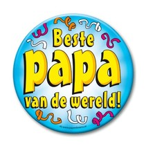 Paperdreams - Button XL - Beste papa