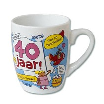 Paperdreams - Cartoonmok - 40 Jaar vrouw