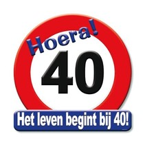 Paperdreams - Huldeschild - 40 Jaar