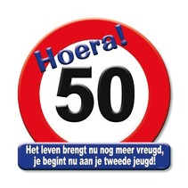Paperdreams - Huldeschild - 50 Jaar