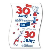 Paperdreams - Toiletpapier - 30 Jaar - Man