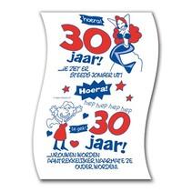 Paperdreams - Toiletpapier - 30 Jaar - Vrouw