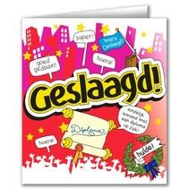 Paperdreams - Wenskaart - Cartoon - Geslaagd