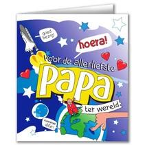 Paperdreams - Wenskaart - Cartoon - Papa