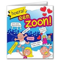 Paperdreams - Wenskaart - Cartoon - Zoon
