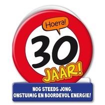 Paperdreams - Wenskaart - Verkeersbord - 30 Jaar