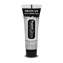 Paintglow - Face & body paint - Neon wit - 10ml