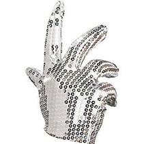 Partychimp - Handschoenen - Michael Jackson - Wit
