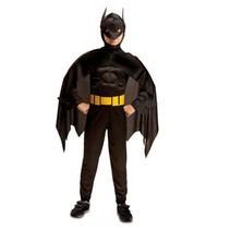 Partychimp - Kostuum - Batman - Gespierd - mt.116