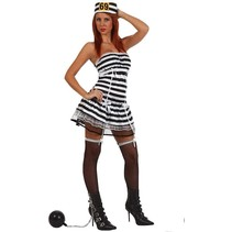 Partychimp - Kostuum - Boefje - Sexy - M/L