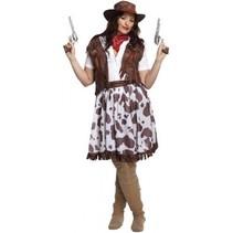 Partychimp - Kostuum - Cowgirl - L/XL