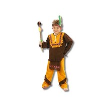 Partychimp - Kostuum - Indiaan - mt.98/104