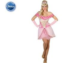 Partychimp - Kostuum - Prinses - Roze - XS/S