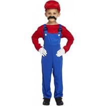 Partychimp - Loodgieter - Mario - Rood - mt.116
