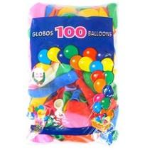 PartyXplosion - Ballonnen - Assortie - 100st. - 30cm
