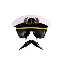 PartyXplosion - Bril - Kapitein met snorretje